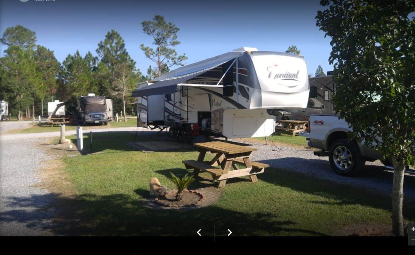 Bay Hide Away RV site